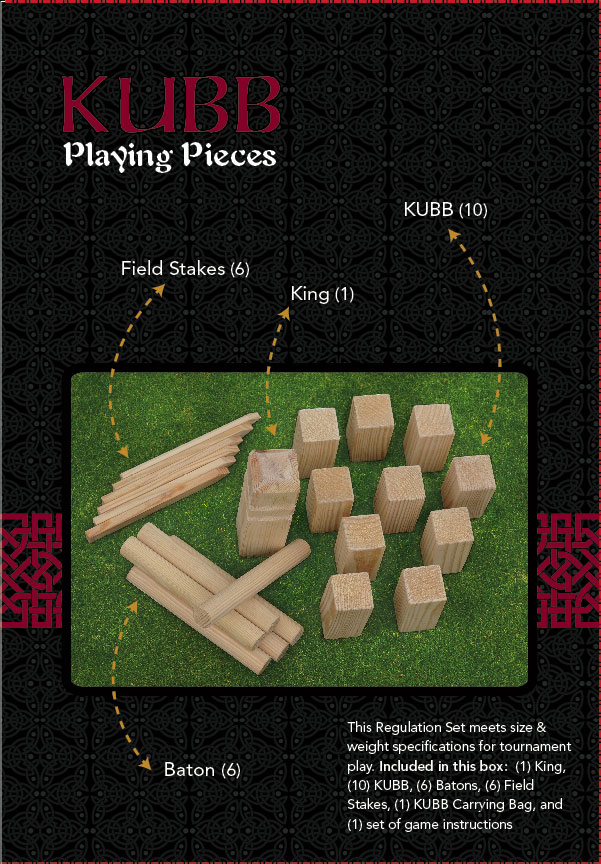 Madwood Products Kubb Game